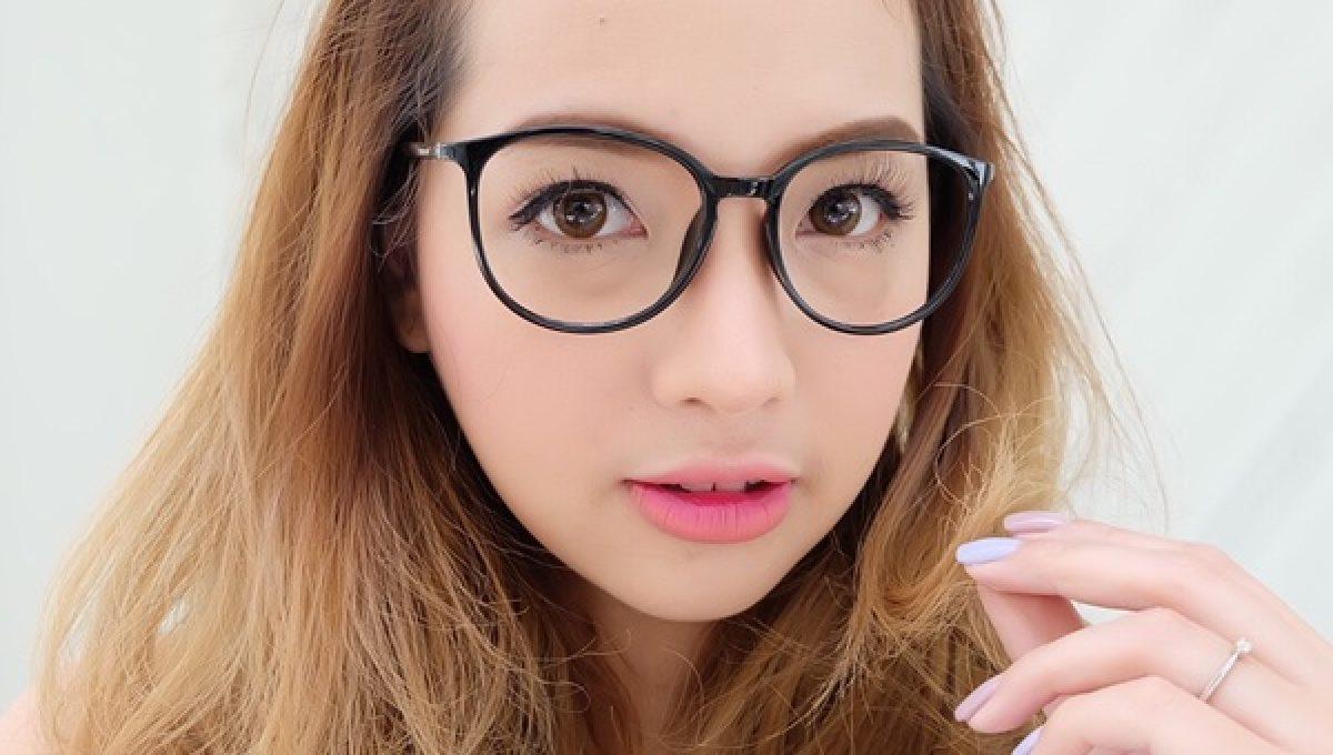 แว่นกรองแสง Angels eye (แว่นตานางฟ้า) รุ่น ปลายฟ้า